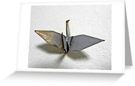 Origami-bird by cheeckymonkey