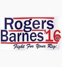 Rogers Barnes '16 Poster