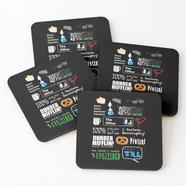 """The Office"" Things Coasters (Set of 4)"
