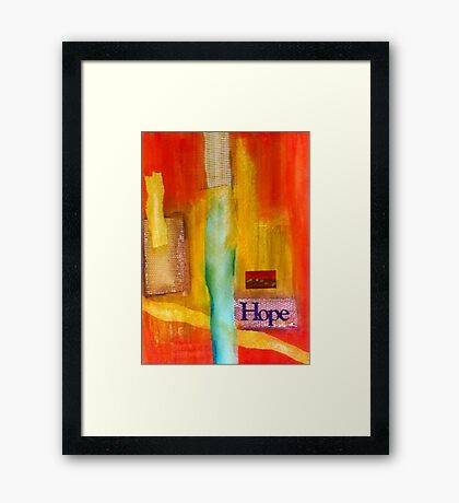 Windows of HOPE Framed Print
