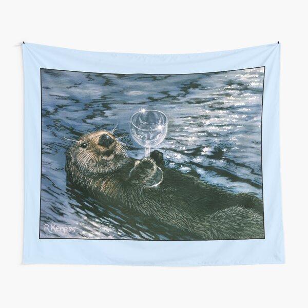 Ya Otter Relax Tapestry