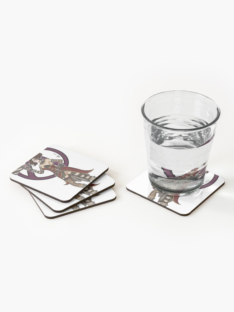 Alternate view of Mad Moxxi Borderlands 3 Coasters (Set of 4)