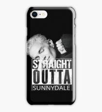 Spike- Straight Outta Sunnydale iPhone 8 Case