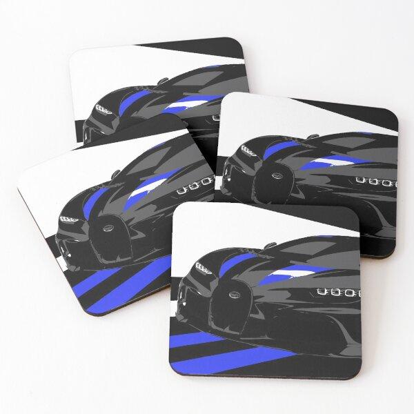 2021 Bugatti Chiron Super Sport 300+ Coasters (Set of 4)