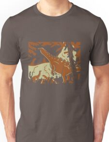 Long Necks - Tan and Orange T-Shirt