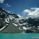 11 november - Upper Joffre Lake and Glaciers beyond by Michael Garson