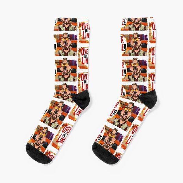 Over the Line Socks