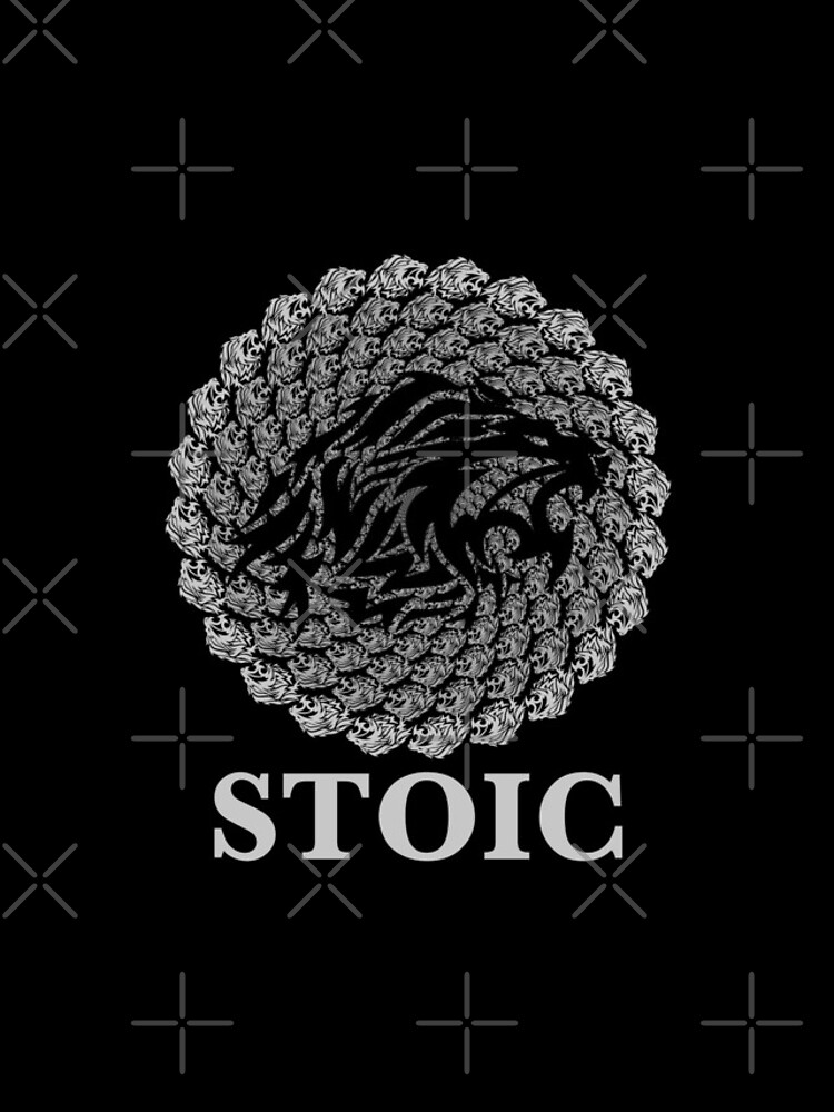 Stoic Lion - Stoic Symbol of Strength - Fight Chaos by StoicMagic