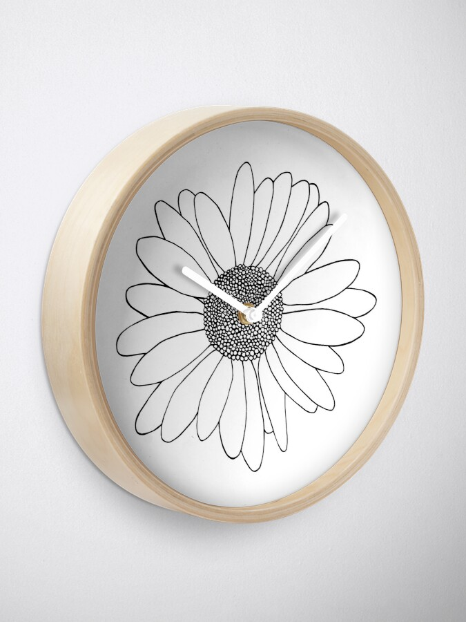 Alternate view of Daisy Clock