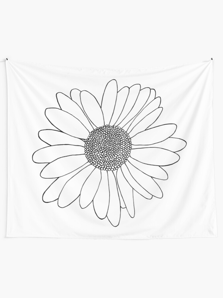 Alternate view of Daisy Tapestry
