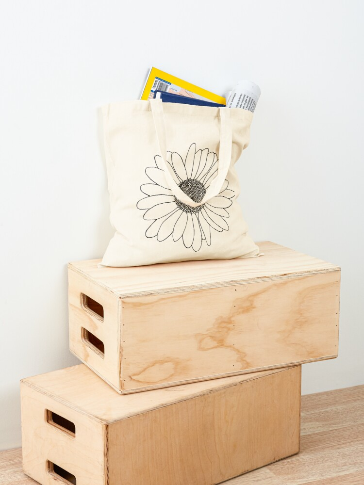 Alternate view of Daisy Boarder Tote Bag