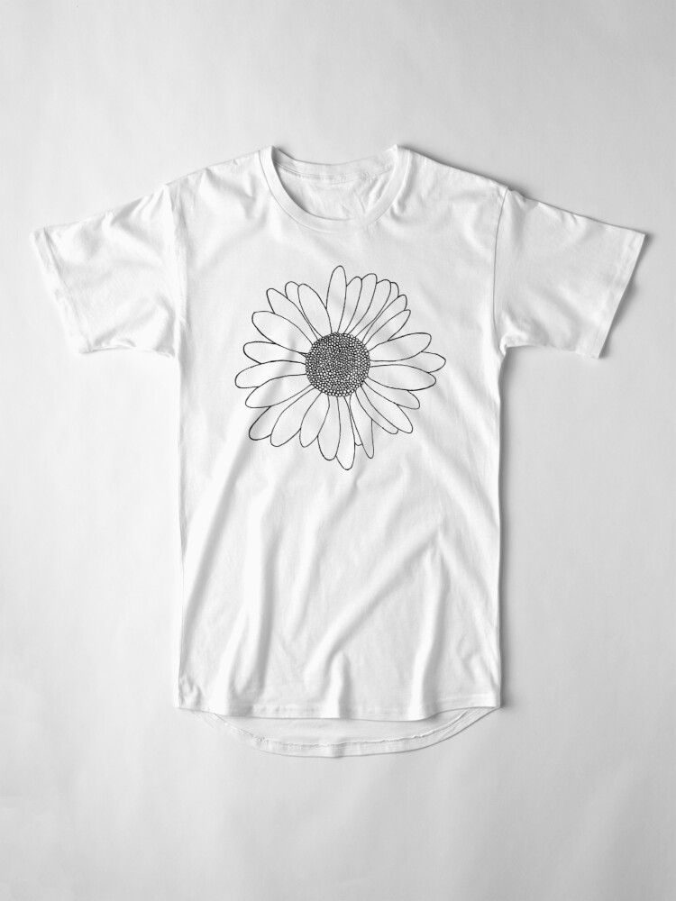 Alternate view of Daisy Boarder Long T-Shirt