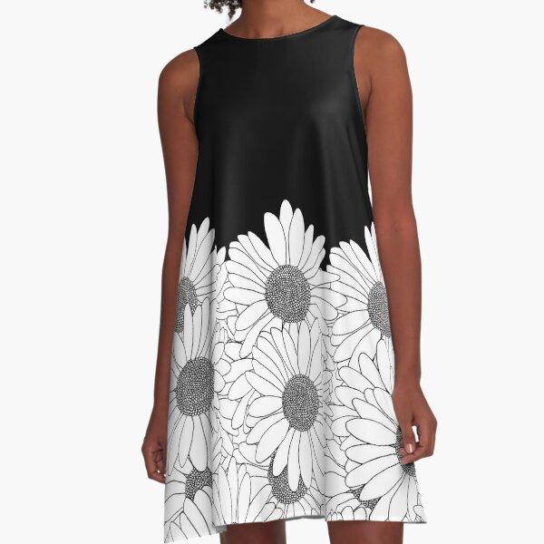 Daisy Boarder A-Line Dress