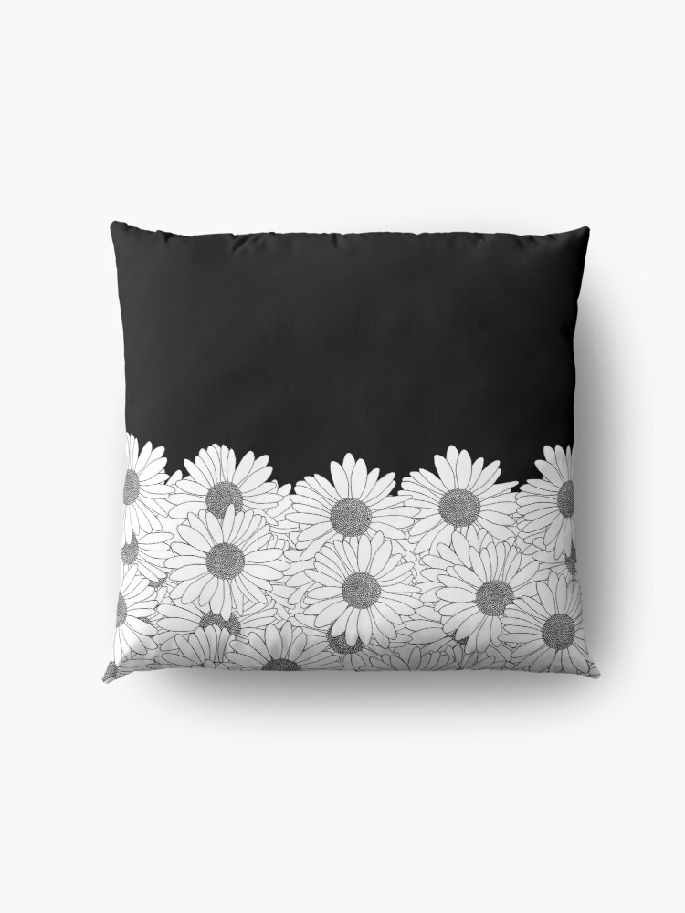 Alternate view of Daisy Boarder Floor Pillow