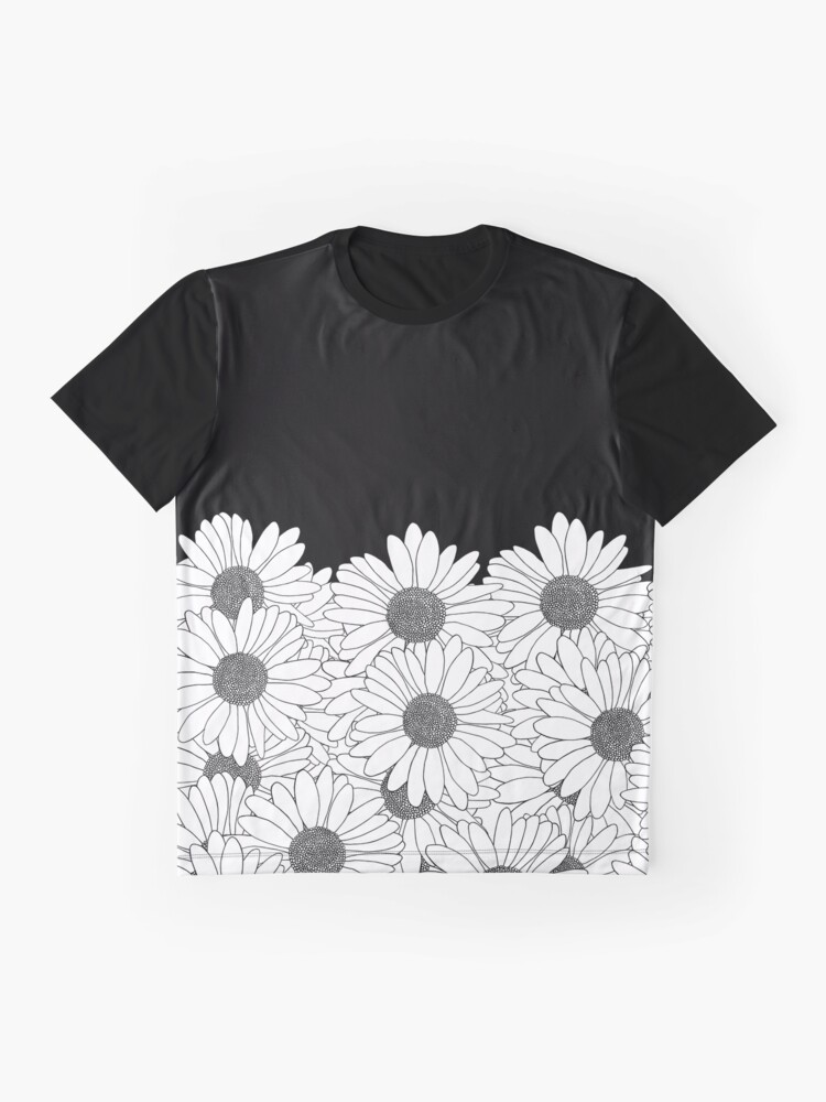 Alternate view of Daisy Boarder Graphic T-Shirt