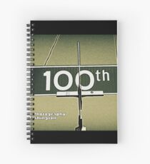 North 100th Street, Seattle, WA by MWP Spiral Notebook