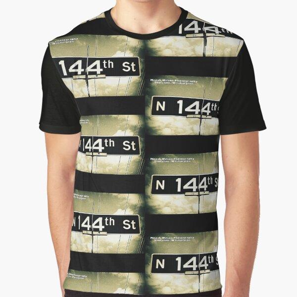 North 144th Street, Shoreline, WA by MWP Graphic T-Shirt