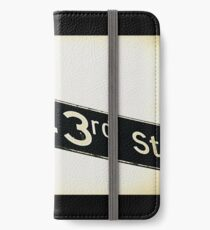 North 143rd Street, Shoreline, WA by MWP iPhone Wallet/Case/Skin