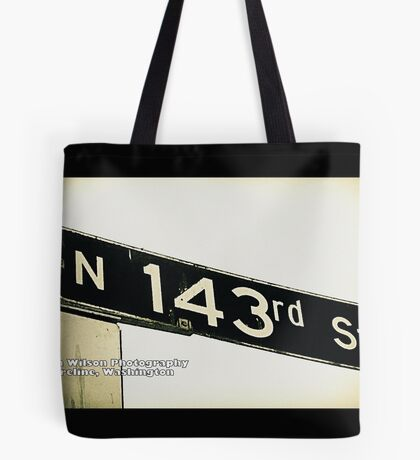 North 143rd Street, Shoreline, WA by MWP Tote Bag