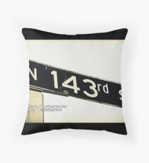 North 143rd Street, Shoreline, WA by MWP Throw Pillow