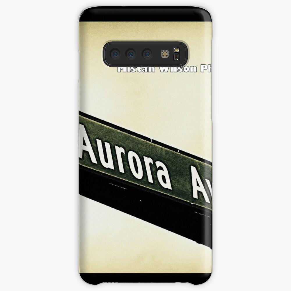 Aurora Avenue North, Shoreline, WA by MWP Samsung Galaxy Snap Case