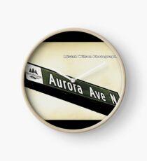 Aurora Avenue North, Shoreline, WA by MWP Clock