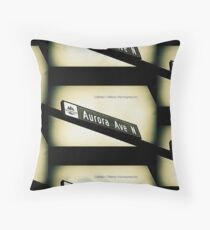 Aurora Avenue North, Shoreline, WA by MWP Throw Pillow