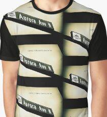 Aurora Avenue North, Shoreline, WA by MWP Graphic T-Shirt