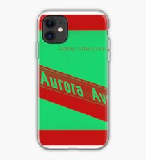 Aurora Avenue North Cherry Watermelon by MWP iPhone Case