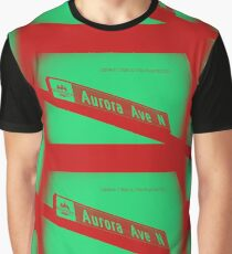 Aurora Avenue North Cherry Watermelon by MWP Graphic T-Shirt