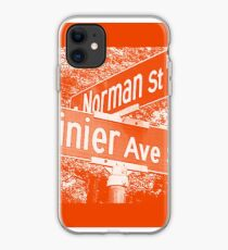 1100 Norman Street & Rainier Avenue South, Orange Creme, Seattle, WA by MWP iPhone Case