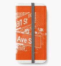 1100 Norman Street & Rainier Avenue South, Orange Creme, Seattle, WA by MWP iPhone Wallet/Case/Skin