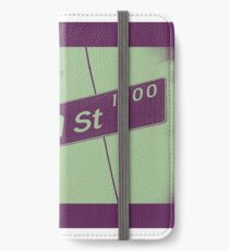 1900 South Plum Street PLUM White Grape, Seattle, WA by MWP iPhone Wallet/Case/Skin