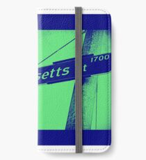 1700 South Massachusetts Street, Illuminated Indigo, Seattle, WA by MWP iPhone Wallet/Case/Skin