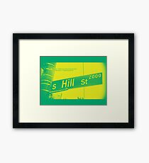 2000 South Hill Street, Neo Yellow, Seattle, WA by MWP Framed Print