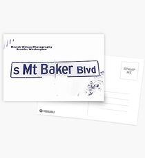 South Mount Baker Boulevard, Dark Ice, Seattle, WA by MWP Postcards