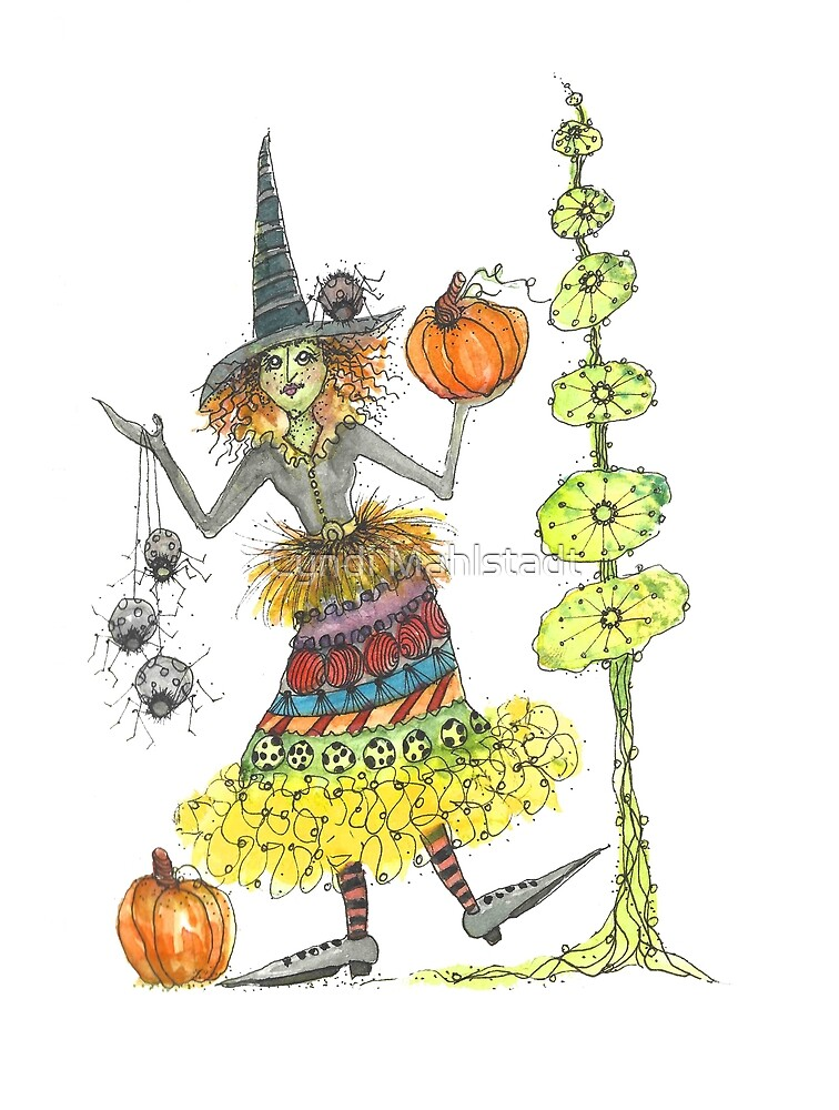 Wacky Witch and Friends by Cyndi Mahlstadt