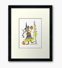 Wacky Witch and Friends Framed Print