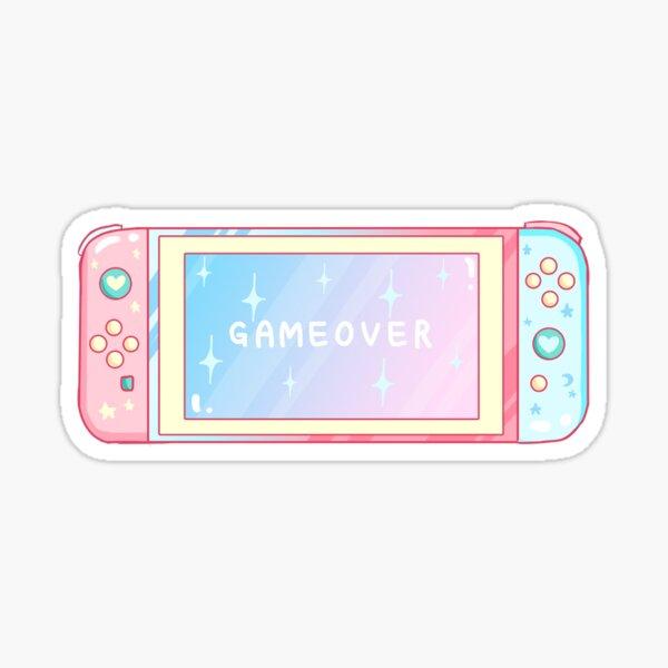 Pastel Handheld Console Inspired Sticker Sticker