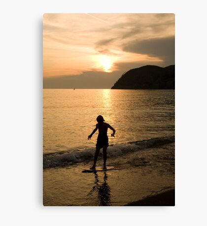 Italian sunsets Canvas Print