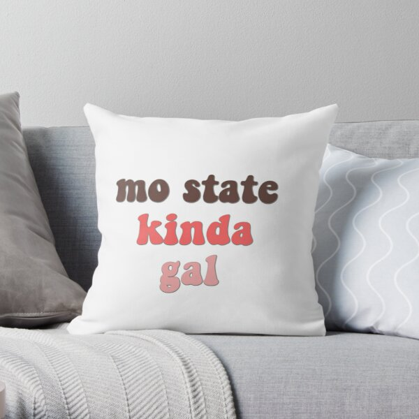 Missouri State Kinda Gal Throw Pillow