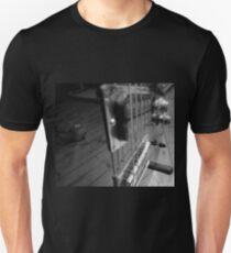 Dog in a Guitar Unisex T-Shirt