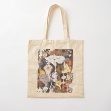 Pupper Party Cotton Tote Bag