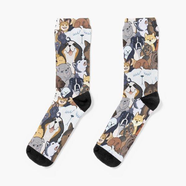 Pupper Party Socks