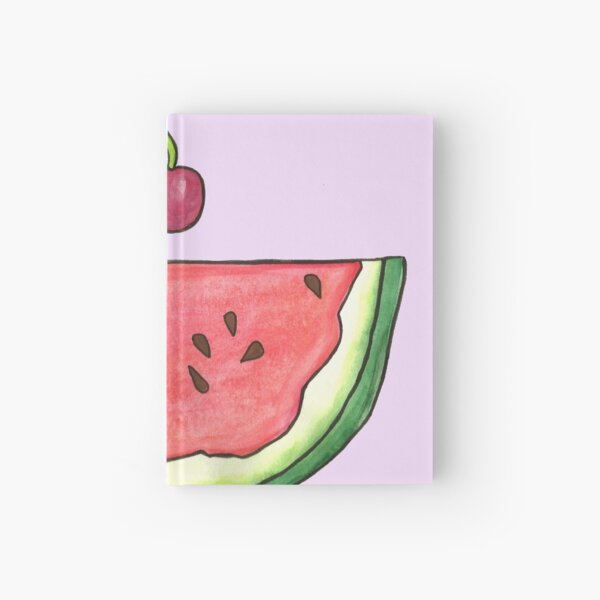 Watermelon Smile by Jayne Kitsch Hardcover Journal