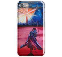 Black Gates of Mordor iPhone Case/Skin