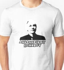 Assange is my Homeboy Unisex T-Shirt
