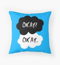 The Fault In Our Stars - Okay Throw Pillow
