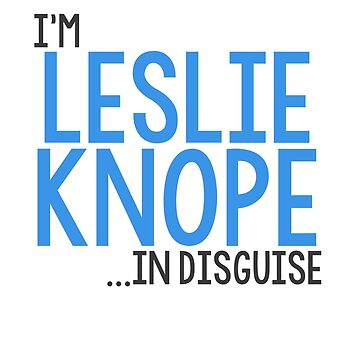 I'M LESLIE KNOPE... IN DISGUISE by 1995