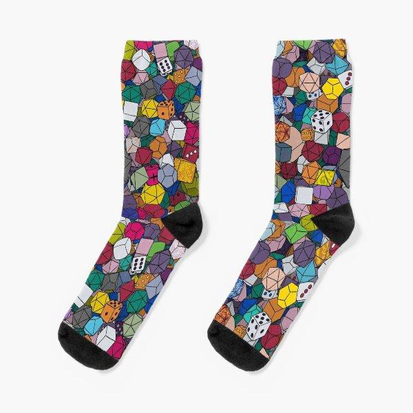 RPG Dice Socks